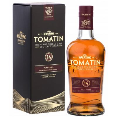 Tomatin 14 Year Old Port Finish - 70cl 46%