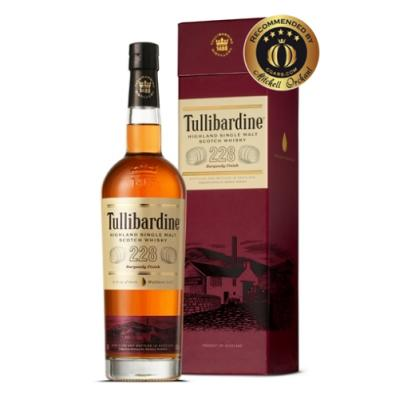 Tullibardine 228 Burgundy Cask Finish - 70cl 43%