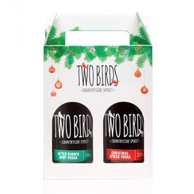 Two Birds Vodka Pack - 2 x 20cl