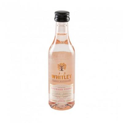 JJ Whitley Rhubarb Vodka Miniature - 5cl 38.6%