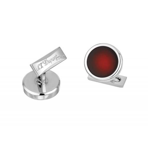ST Dupont Atelier Sunburst Red Cufflinks