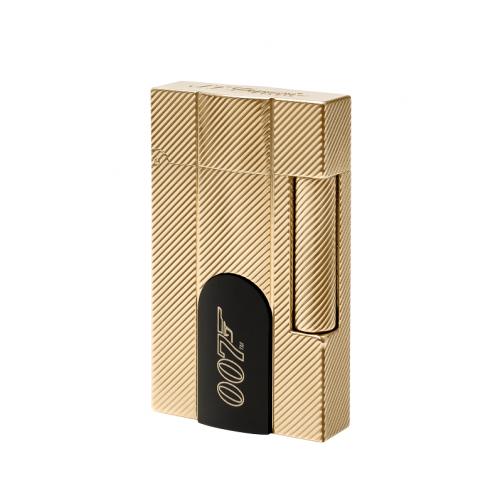 ST Dupont Limited Edition Ligne 2 James Bond 007 - Yellow Gold Connected Lighter