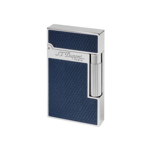 ST Dupont Lighter – Ligne 2 – Blue Natural Lacquer