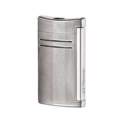 ST Dupont Lighter – Maxijet – Chrome Grid