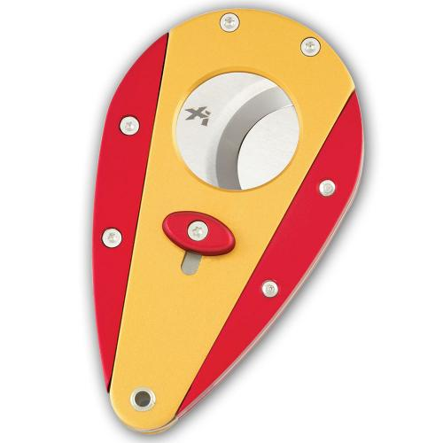 Xikar Cigar Cutter - Twin Colour - Gold and Red
