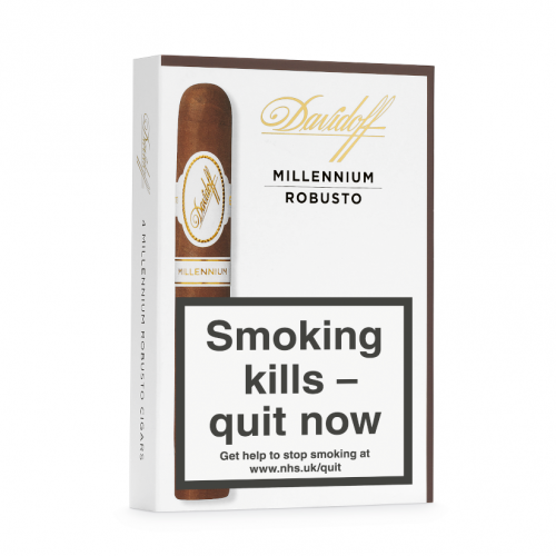 Davidoff Millennium Robusto Cigar - Pack of 4