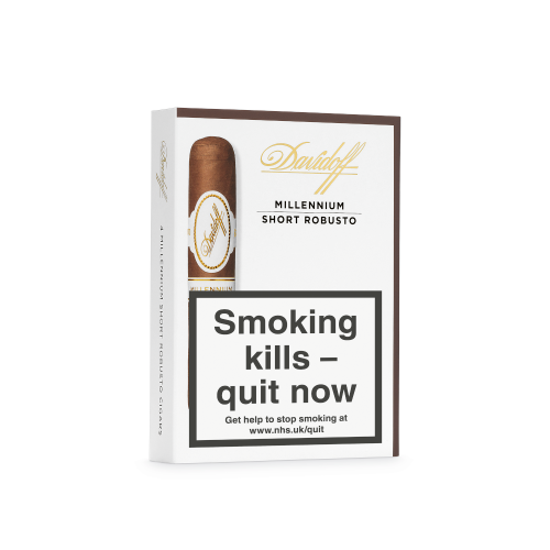 Davidoff Millennium Short Robusto Cigar - Pack of 4