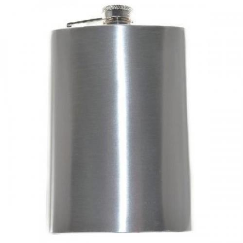 8oz Stainless Steel Personalised Hip Flask