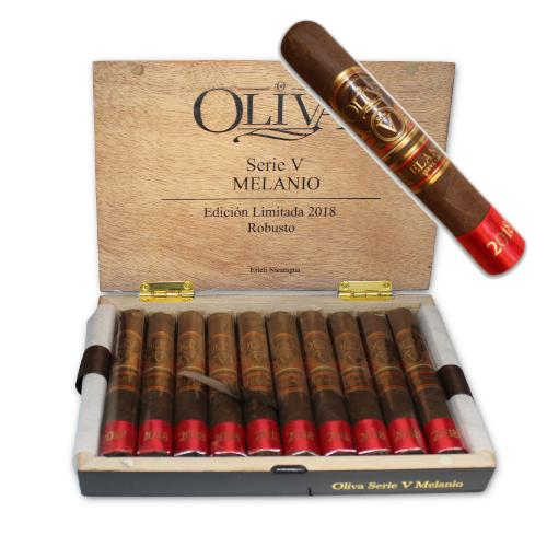 LIMITED TIME OFFER - Oliva Serie V Melanio Robusto Cigar - Limited Edition 2018 - 11 Cigars
