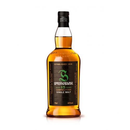 Springbank 15 Year Old Single Malt Scotch Whisky - 70cl 46%