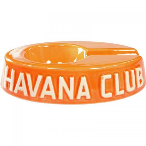 Havana Club Ashtray – Egoista Single Cigar Ashtray – Mandarin Orange