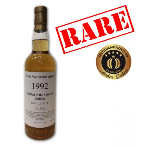 Littlemill Andy Bailey 1992 - 70cl 58%