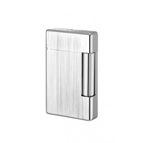 ST Dupont Initial Lighter – Brushed White Bronze