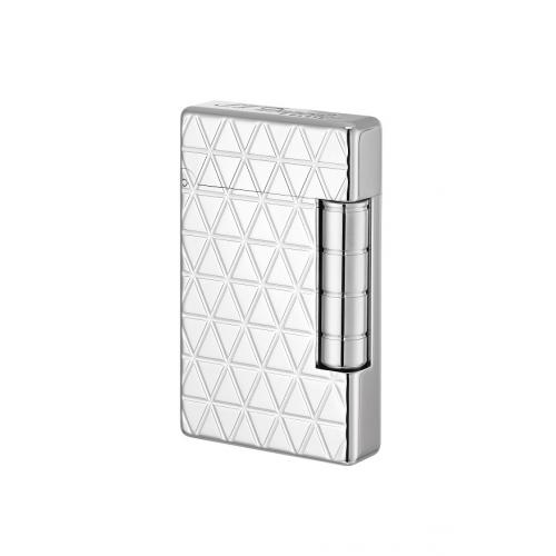 ST Dupont Initial Lighter – White Bronze Fire Head