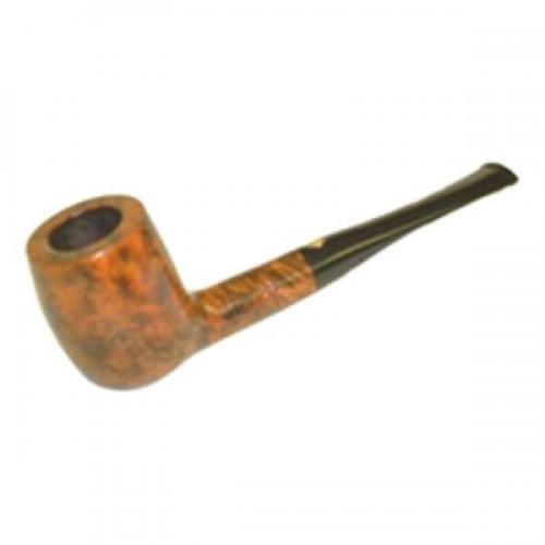 BBB Silver Grain Straight Briar Pipe