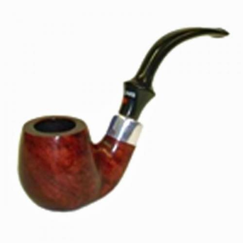 Dr Plumb Stand Easy Smooth Bent Pot Briar Pipe