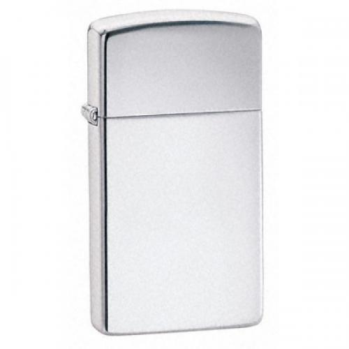 Zippo Slim Lighter - High Polished Chrome