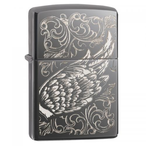 Zippo - Filigree Flame Wing Design - Windproof Lighter