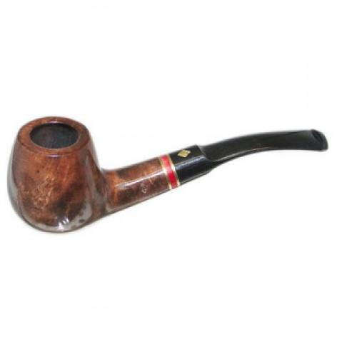 BBB Sprint Red Band Semi Curved Briar Pipe