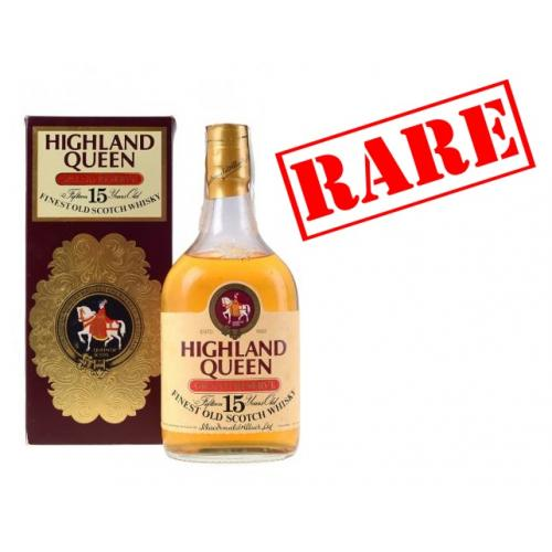 Highland Queen 15 Year Old 1960s Whisky - 75cl 40%