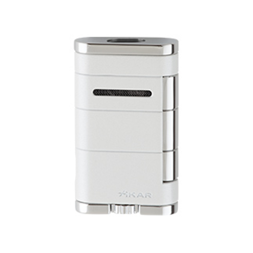 Xikar Allume Twin Double Jet Lighter - Pearl
