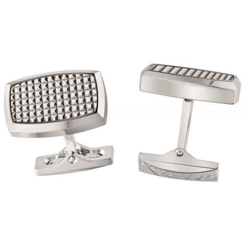 ST Dupont Diamond Head Palladium Finish Cufflinks