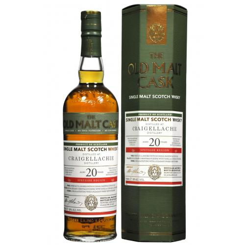 Old Malt Cask Craigellachie 20 Year Old 1995 Single Malt Whisky - 70cl 50%