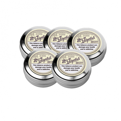 McChrystal\'s Original & Genuine - Extra Large Tin - 5 x 21g