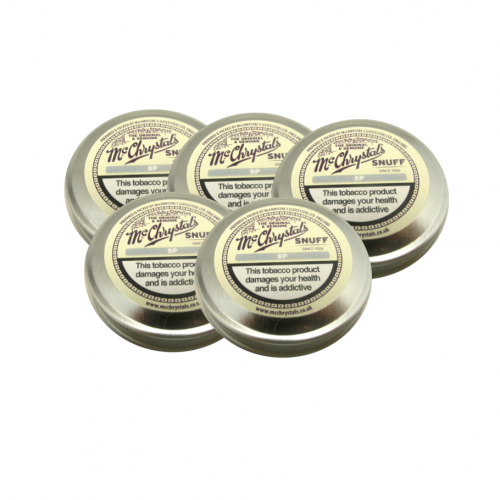 McChrystal\'s SP Snuff - Mini Tin - 5 x 3.5g