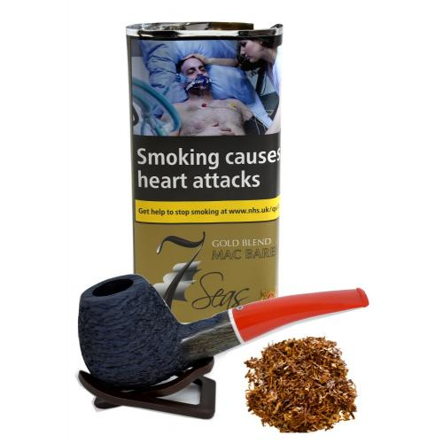 Mac Baren 7 Seas Pipe Tobacco Gold 040g (Pouch)