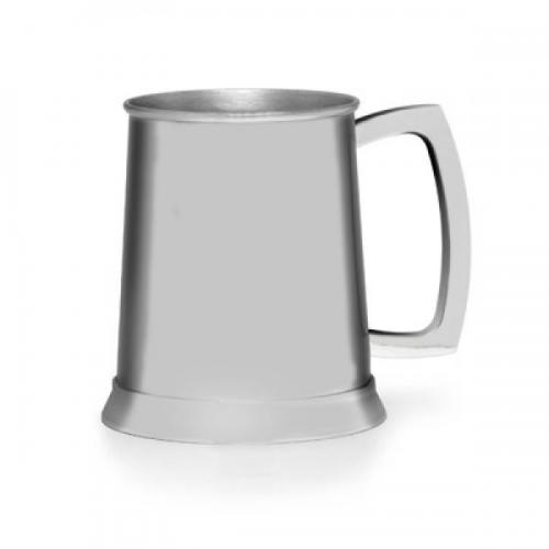 Polished Stainless Steel Personalised Pint Tankard
