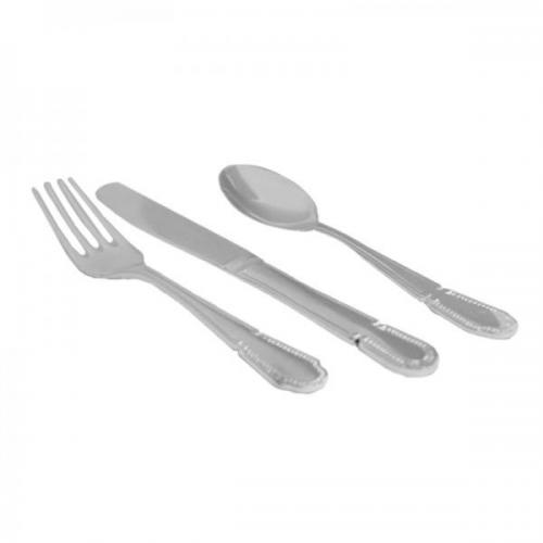 3 Piece Silver Plated Personalised Children\'s Christening Cutlery Set