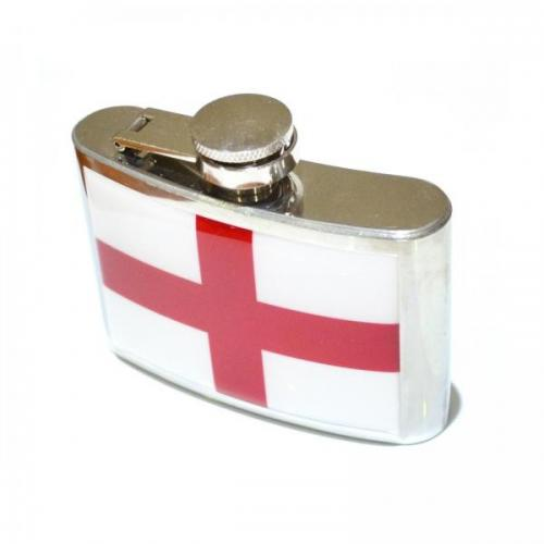 4oz George Cross Stainless Steel Personalised Hip Flask
