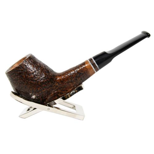 Alberto Paronelli \'Volkan Poesia Pebble Grain Strawberry Briar Pipe (ART003)
