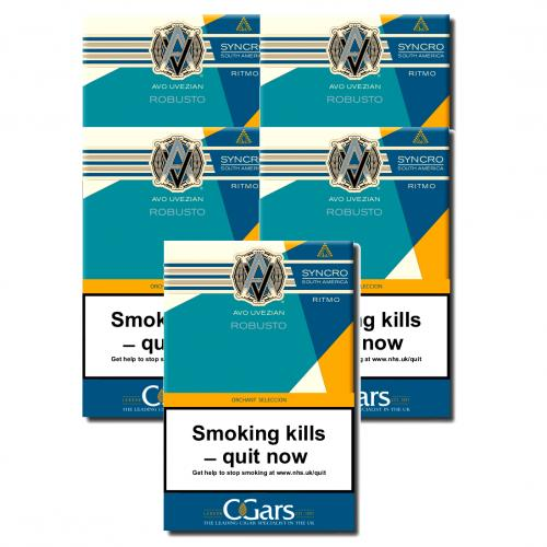 AVO Orchant Seleccion Syncro Robusto Cigar - 5 Packs of 4