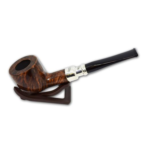 Peterson Natural Army Sterling Silver Spigot Fishtail 606 Pipe (AS005)