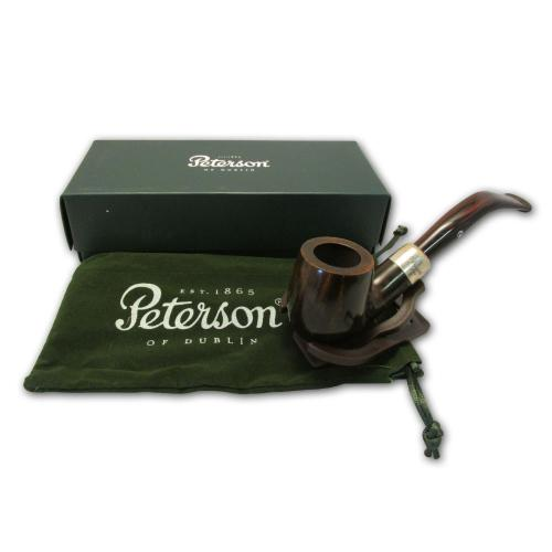 Peterson Ashford Silver Mounted Pipe - 069 (G1085)