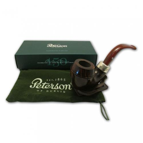 Peterson Ashford Silver Mounted Pipe - XL17 (G1094)