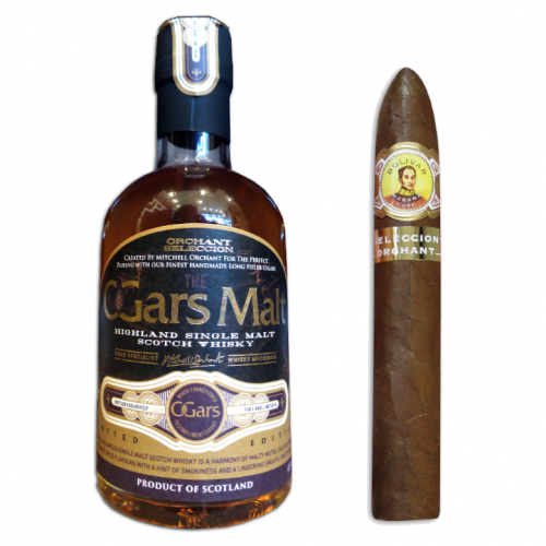 Bolivar Belicosos Finos Orchant Seleccion 55th Birthday Edition + Cigar Malt Whisky Sampler