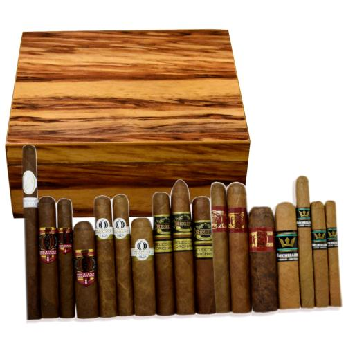 Exclusive New World Cigars and The Highlander Humidor Sampler