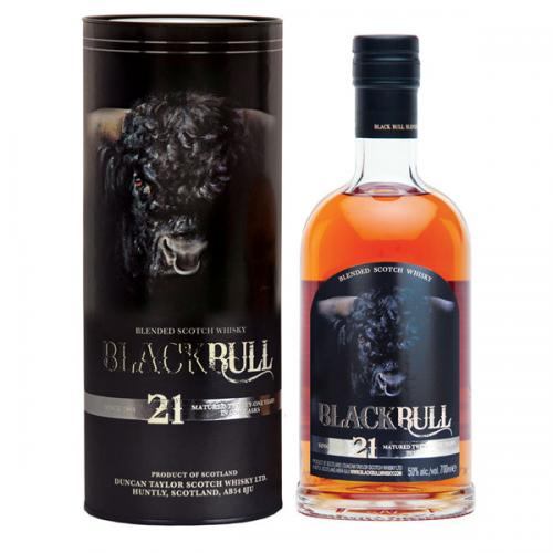 Black Bull 21 Year Old Blended Malt Scotch Whisky - 70cl 50%