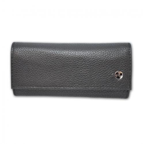 Rattrays Black Knight Roll Up Leather Tobacco Pouch