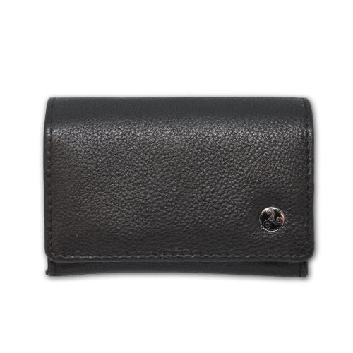 Rattrays Black Knight Small Box Leather Tobacco Pouch (PP033)
