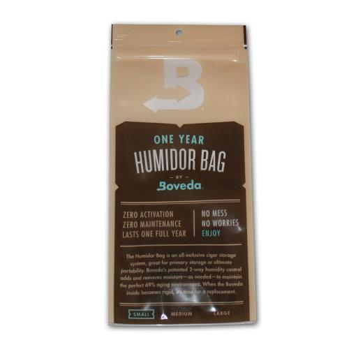 Boveda 1 year humidor bag 69% – Small