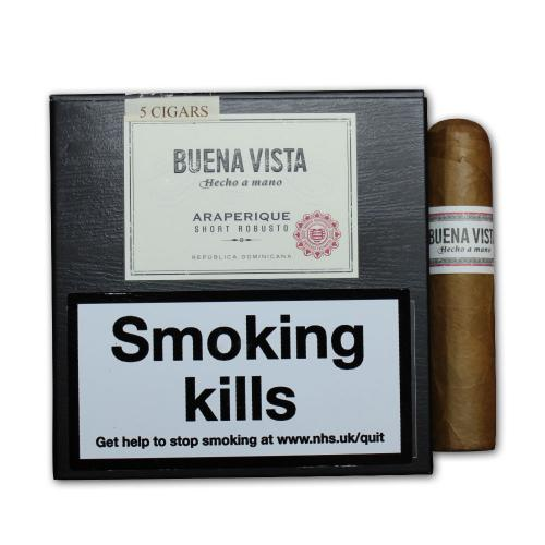 Buena Vista Short Robusto Cigar - Pack of 5