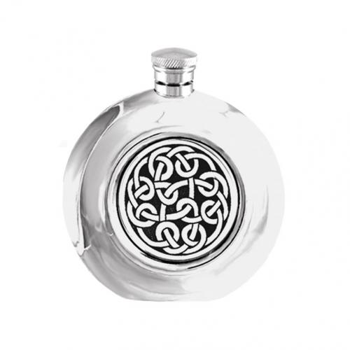 6oz Pewter Hip Flask - CEL406