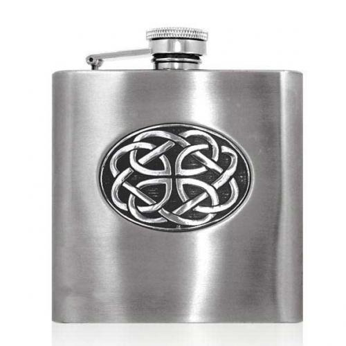 6oz Stainless Steel Hip Flask - CEL852