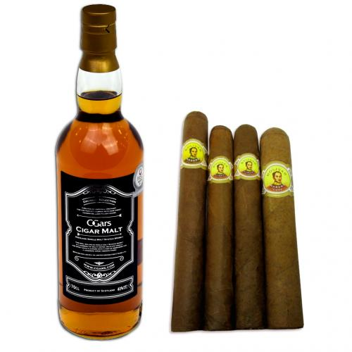 Bold + Powerful Bolivar Selection and Orchant Selection Cigar Malt Pairing