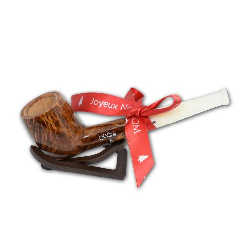 Chacom Noel 186 Smooth Straight Christmas Pipe (CH035)