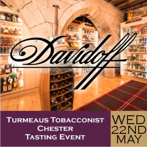 Turmeaus Chester Whisky & Cigar Tasting Event - 22/05/19